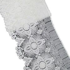 "6-1/4"" Cotton Embroidery Venise Lace Trim for Garment and Decorative by 5 yards"