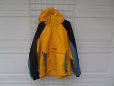 Columbia Yellow pullover hooded jacket  Mens XL