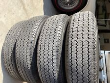 Triumph TR6 Steel Wheels with Michelin Redline Tires, Used
