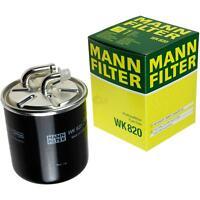 Original MANN-FILTER Kraftstofffilter WK 820 Fuel Filter