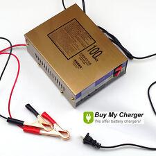 Intelligent 12V/24V 10A Pulse Lead Acid Charger Car Motorcycle Battery Charger