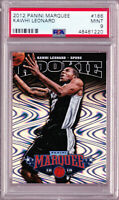 Kawhi Leonard Spurs 2012 Panini Marquee Rookie #166 PSA 9 Los Angeles Clippers