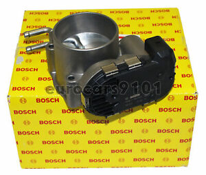 Volkswagen Bosch Fuel Injection Throttle Body Assembly 0280750030 078133062B