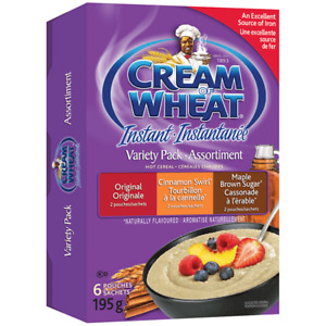 Cream Of Wheat Instant Variety Pack