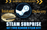 10x Premium Random Steam Key, 10x Überraschungskeys PC Game Keys Global Wert~160