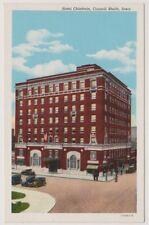 USA postcard - Hotel Chieftain, Council Blutts, Iowa