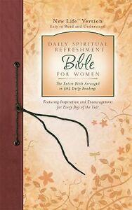 Daily Spiritual Refreshment for Women Bible (NEW LIFE BIBLE)