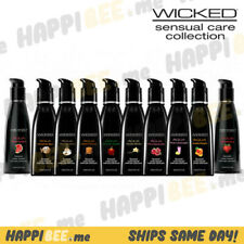 WICKED AQUA H20 Natural Flavors💕Premium Personal Lubricant Toy+Partner Friendly