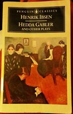 Hedda Gabler & Other Plays by Henrik Ibsen FREE AUS POST! good used cond PB1973