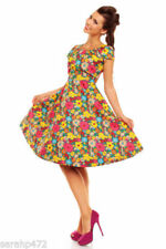 Machine Washable Retro 100% Cotton Dresses for Women
