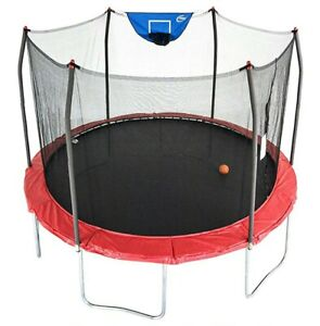 Red Spring Cover Pad For 10ft Skywalker Trampoline NEW Replacement