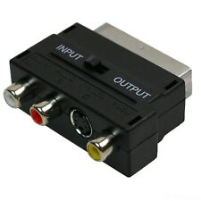Scart Adapter for PS1, PS2, PS3, WII,XBOX, DVD, VIDEO