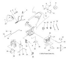 atv side by side utv electrical ponents for polaris sportsman  polaris breakercircut 20 2410323 new oem fits polaris sportsman 600