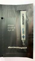 8pcs x Dermalogica Stress Positive Eye Lift De-puffing Masque Sample #tw