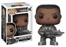 Games: Gears Of War-Augustus Cole - Funko Pop! Games: (Toy Used Very Good)