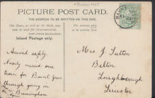 Family History Postcard- Fulton or Lulton - Belton,Loughborough,Leiceseter RF947