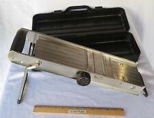 MIU France Professional Mandoline 225582 Commercial Stainless Steel Slicer Nice