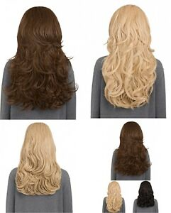 KOKO COUTURE CHERYL REVERSIBLE CURLY HALF-HEAD WIG  3/4 Weave Curly Or Straight