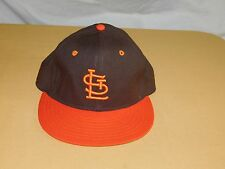 VINTAGE  BASEBALL HAT CAP ST LOUIS BROWNS NEW ERA PRO MODEL WOOL NEW NOS