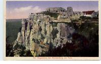 BLANKENBURG ~ 1923 AK Regenstein Burg Ruine ungelaufen alte Postkarte