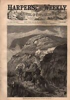 1877 Harpers Weekly September 29-New York Fire Dept medalists;Dead Mule Trail ID