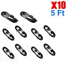 LOT 10X Original OEM Fast 5FT Micro USB Charger Charging Cable Cord For Samsung