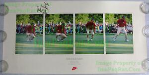 NITF Vintage NIKE Golf Poster ☆ Strange Days ☆ SIGNED Curtis ☆ U.S. Open Winner