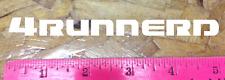 4Runnerd Toyota 4Runner die cut parody funny sticker decal gen5