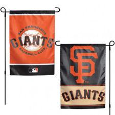 "San Francisco Giants Team Garden Wall Flag Banner 12"" X 18"" 2 Sided Mlb Baseball"
