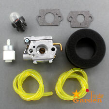 Carburetor Carb & Fuel Filter Kit For WT-682-1 WT-682 Troy-Bilt Ryobi 753-04408