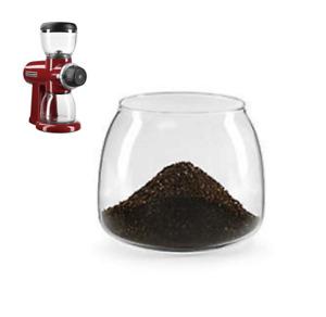 KitchenAid Pro Line Series Burr Coffee Mill Grinder Replacement Glass Jar / Bin