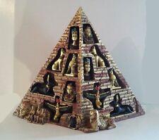 Egyptian Miniatures Isis Horus Bast Nefertiti King Tut Horus Pyramid #Ke-33322