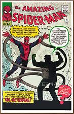 Amazing Spider Man  #3 poster art print '92  Steve Ditko  Doctor Octopus