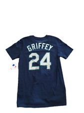 NWT New #24 Ken Griffey Jr. Seattle Mariners Majestic Boy's Medium Jersey Shirt