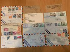 Guatemala - 20 Briefe nach USA 1940er Jahre - sehr interessant - siehe Fotos