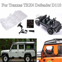Simulation Interior Car Body Shell Decoration for Traxxas TRX4 Defender D110 RC