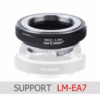 K&F Concept Lens fit LM-EA7 adapter for M42  lens to Leica M camera M-P M240