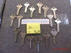 SC key blanks series, uncut blade for Schlage SC1 SC4 SC6 SC7 SC8 SC9 SC10 SC22.