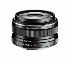 Olympus M.Zuiko 17mm f/1.8 AF Lens For Micro Four Thirds (Black) + UV filter
