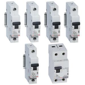 Legrand RX Leitungsschutzschalter Automat Sicherungen Fehlerstrom FI LS Schalter