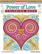 Power of Love Coloring Book by Thaneeya McArdle (Paperback, 2017)