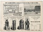 1890s SWIFTS GAS MAKING MACHINES GASOLINE NAPTHA  FIRE DONEGAN & SWIFT NY