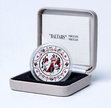 LATVIA 2016 5 EURO coin Baltars. Porcelain. rare silver Proof Lettland silber PP