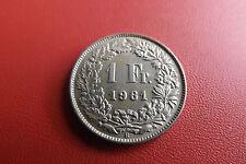 *Schweiz 1 Franken Silber 1961 B.* (KOF1)
