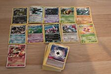 Lot de 84 Cartes Pokemon Tempête Diamant et Perle (11 rares) Proche neuf