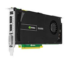 NVIDIA Quadro 4000 V2 2gb DDR5 Tarjeta gráfica profesional 3d Cuda DVI