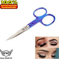 Beauty Curved Edge Eyebrow Hair Scissor Steel Cutter
