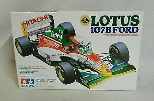 WOW! 1993 TAMIYA LOTUS 107B GRAND PRIX RACE CAR 1/20 MODEL UNBUILT IN BOX #20038