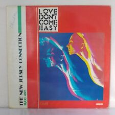"The New Jersey Connection ‎– Love Don't Come Easy (Vinyl 12"", Maxi 33 Tours)"
