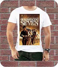 MAGNIFICENT SEVEN FILM MOVIE STEVE MCQUEEN T-SHIRT DESIGN BIRTHDAY PRESENT 3XL